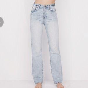 Pistola Cassie Super High Rise Straight Leg Jeans